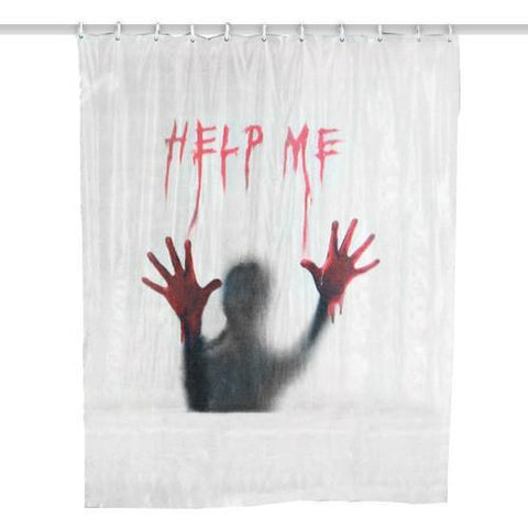 Image of Help Me Shower Curtain-Universal Store London™