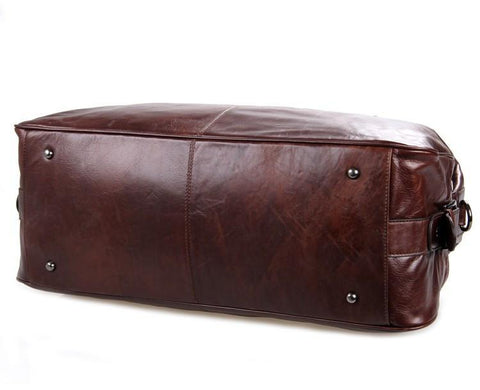 Image of 'Hermes' Leather Travel Bag Holdall-Universal Store London™