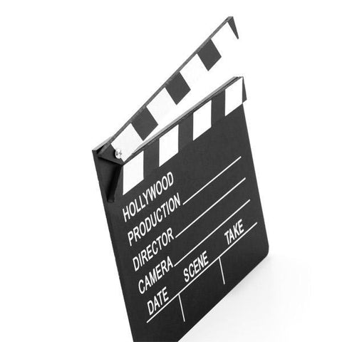 Image of Hollywood Production Gadget and Gifts Clapperboard-Universal Store London™