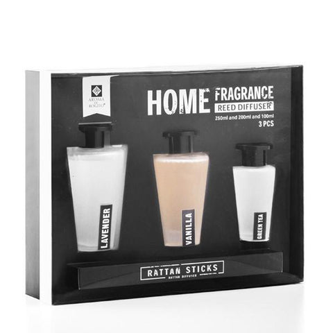 Homania Aroma Reed Diffusers (3 pieces)-Universal Store London™