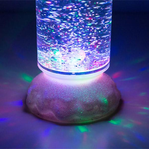 Homania Multicolour LED Candle with moving Liquid and Glitter-Universal Store London™