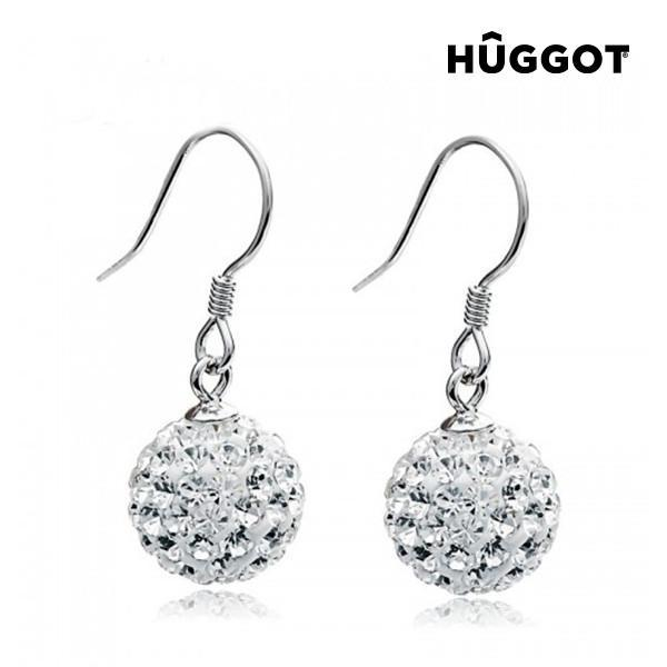 Hûggot World 925 Sterling Silver Earrings with Zircons-Universal Store London™