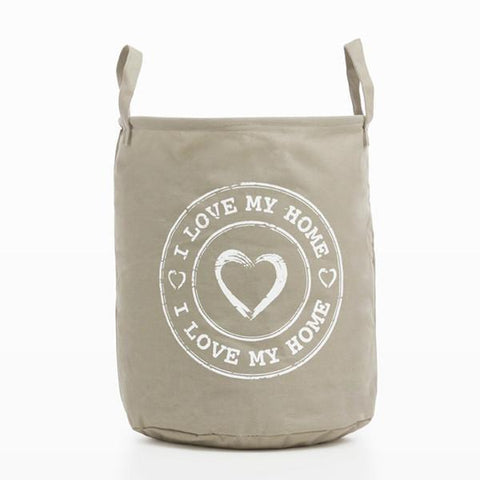 Image of I Love My Home by Homania Laundry Bag-Universal Store London™