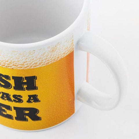 Image of I Wish This Was a Beer XL Mug-Universal Store London™