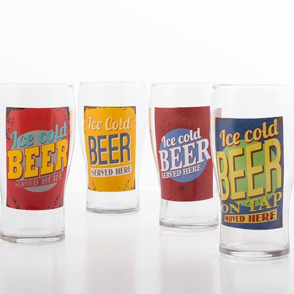 Ice Cold Beer Glass-Universal Store London™
