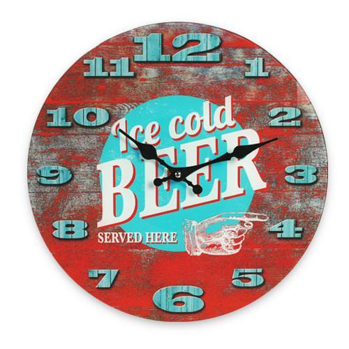 Ice Cold Beer Wall Clock-Universal Store London™