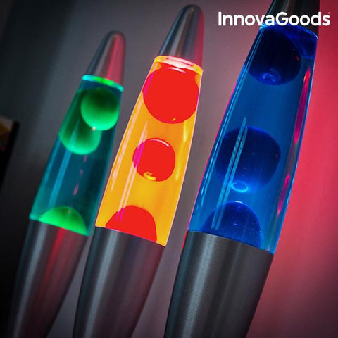 InnovaGoods 25W Magma Lava Lamp-Universal Store London™