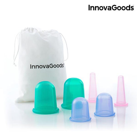 InnovaGoods Anti-Cellulite Vacuum Cups (Pack of 6)-Universal Store London™