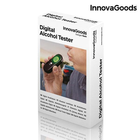 InnovaGoods Digital Breathalyzer-Universal Store London™