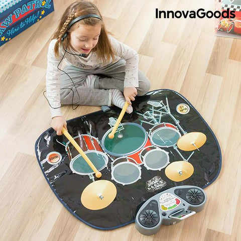 InnovaGoods Drum Kit Playmat-Universal Store London™