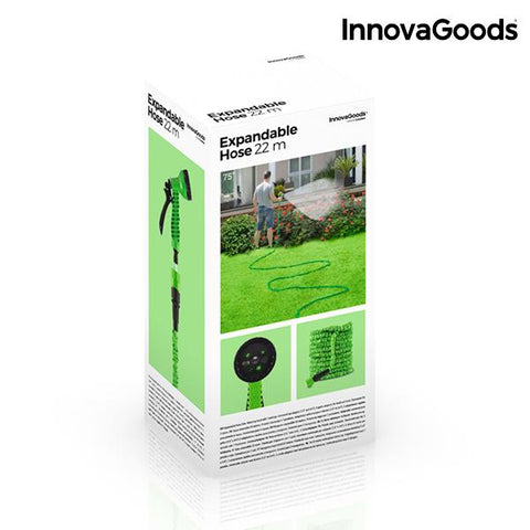 Image of InnovaGoods Extendible Hose 22 m-Universal Store London™
