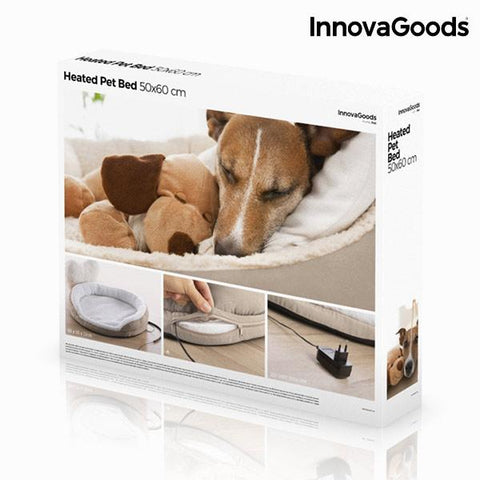 InnovaGoods Heated Pet Bed 18W-Universal Store London™