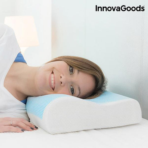 InnovaGoods Memory Foam Gel Pillow-Universal Store London™