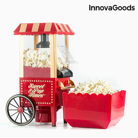 InnovaGoods Popcorn Maker 1200W Red-Universal Store London™
