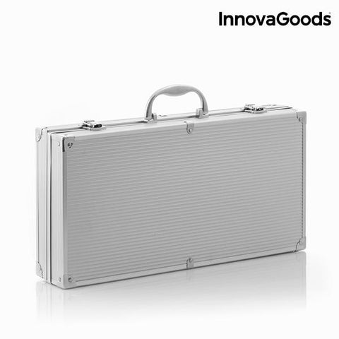 InnovaGoods Professional Barbecue Tool Case (11 pieces)-Universal Store London™