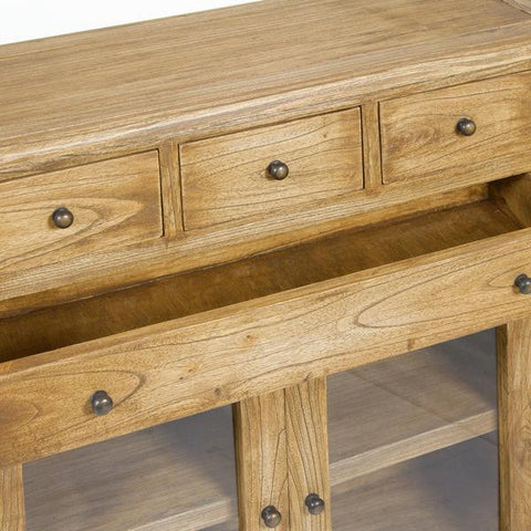 Image of Ios 4 drawers console - Village Collection by Craften Wood-Universal Store London™