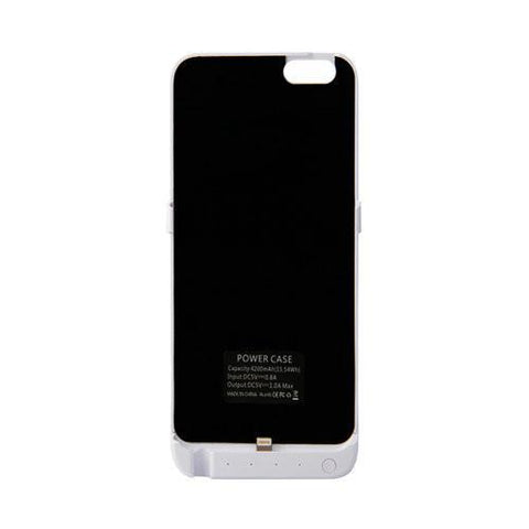 Image of iPhone 6 Plus Rechargeable External Battery Case 5000mAh-Universal Store London™