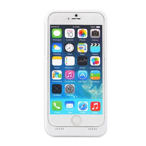 Image of iPhone 6 Rechargeable External Battery Case 4200mAh-Universal Store London™
