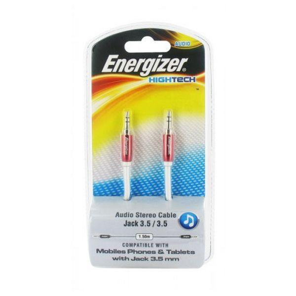 Jack Cable Energizer LCAEHJACKRE2 HighTech 1.5 m Red-Universal Store London™