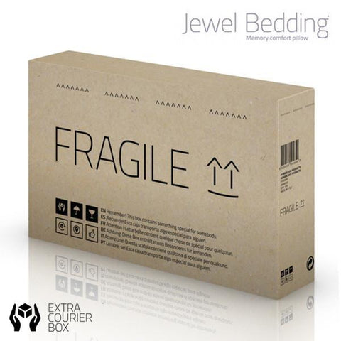 Image of Jewel Bedding Memory Foam Neck Pillow-Universal Store London™