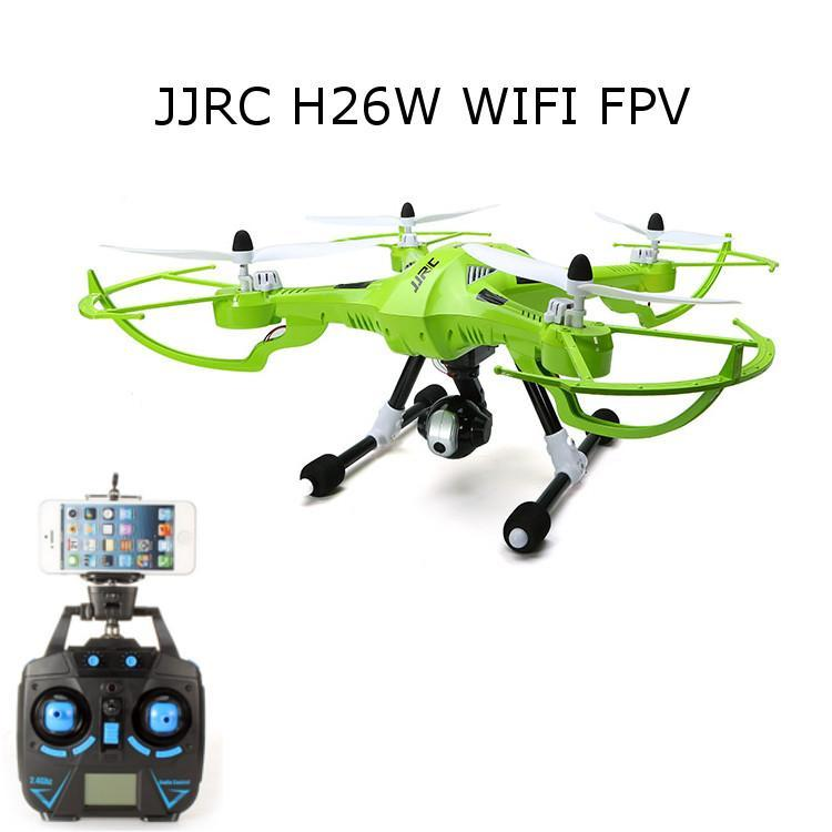 JJRC H26W WIFI FPV With 720P Camera Headless Mode One Key Return RC Quadcopter RTF-Universal Store London™