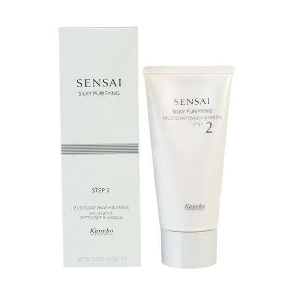Kanebo - SENSAI SILKY mud soap wash & mask 125 ml-Universal Store London™