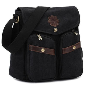KAUKKO Canvas Messenger Cross Body Bag-Universal Store London™