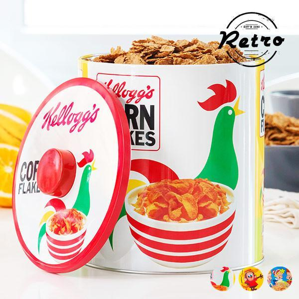 Kellogg's Vintage Metal Box-Universal Store London™