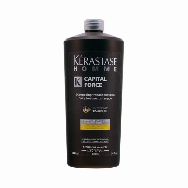 Kerastase - HOMME CAPITAL FORCE bain vita-énergisant 1000 ml-Universal Store London™