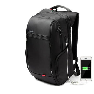 Kingsons City Elite 15.6 inch Anti Theft Waterproof Laptop Backpack USB Charging Port-Universal Store London™