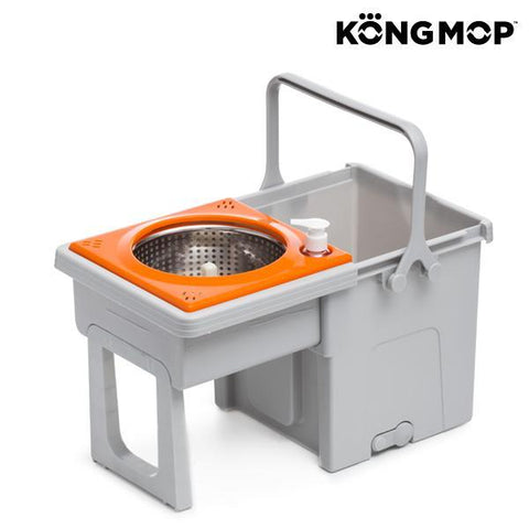 Kong Mop Easy swivel mop with sliding bucket-Universal Store London™