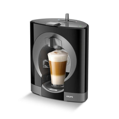 Image of Krups KP1108 Pod coffee machine 0.6L Black coffee maker-Universal Store London™