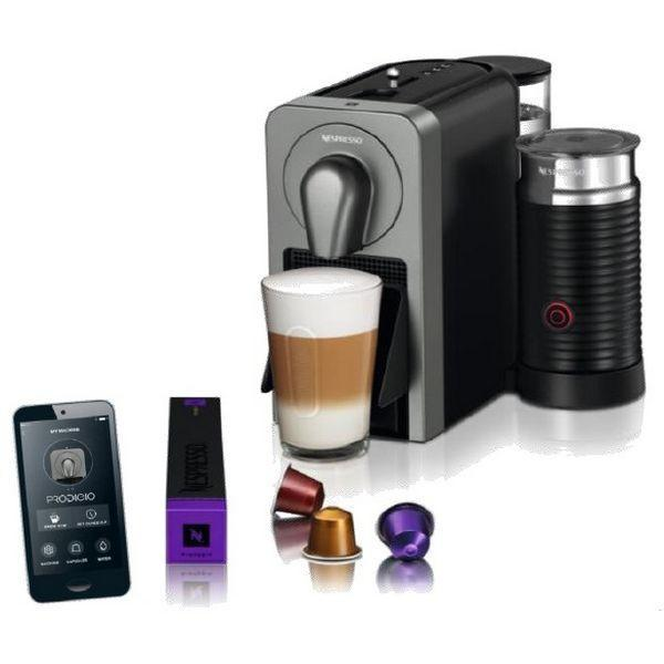 Krups XN 411 T Pod coffee machine 1cups Titanium-Universal Store London™