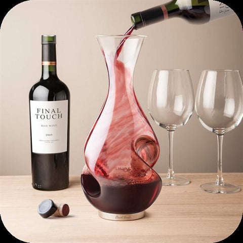 Image of L Grand Conundrum Wine Decanter-Universal Store London™