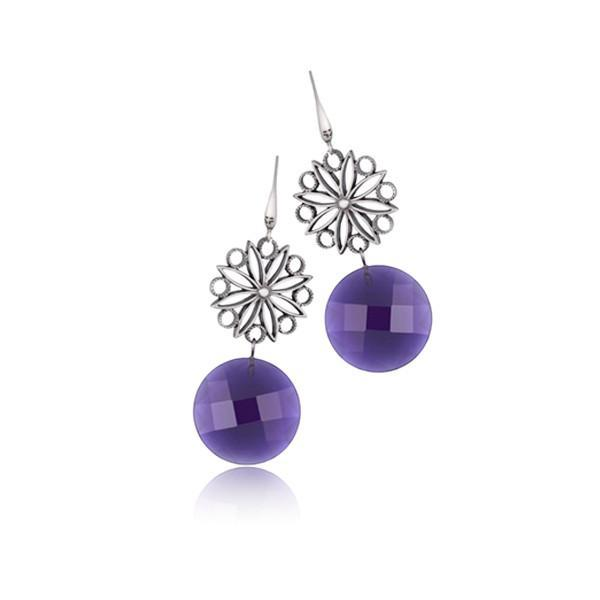 Ladies' Earrings Time Force TJ1026P03-Universal Store London™