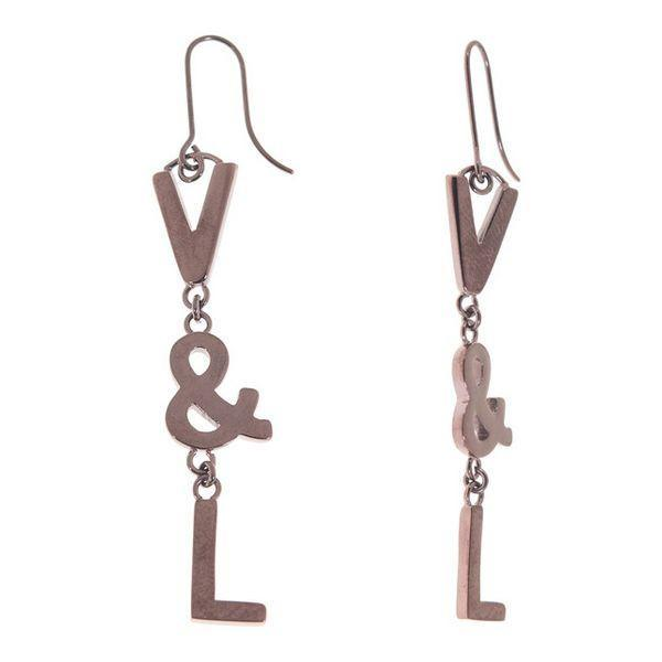 Ladies' Earrings V&L VJ0232PE-Universal Store London™