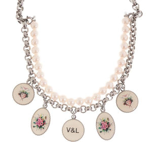 Ladies' Necklace V&L VJ0149CO-Universal Store London™