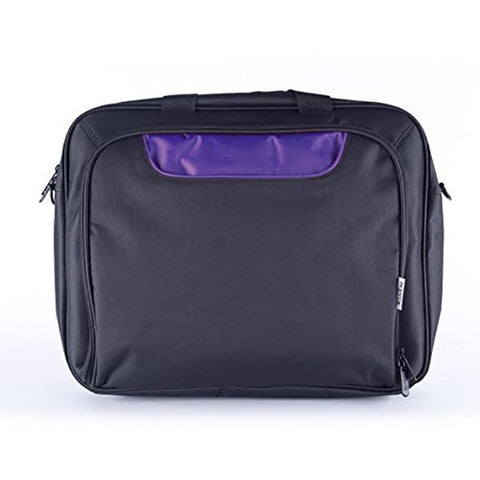 "Image of Laptop Case approx! AAOABT0452 APPNBCP15BP 15,6"" Black Purple-Universal Store London™"