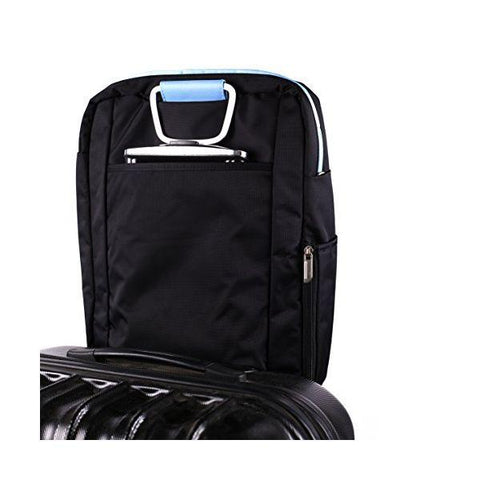 "Laptop Case approx! AAOABT0454 APPNBST15BBL 15,6"" Black Blue-Universal Store London™"