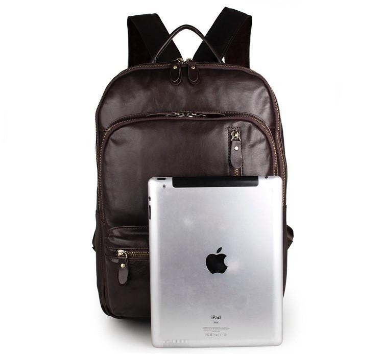 Large Capacity Leather Travel Backpack-Universal Store London™