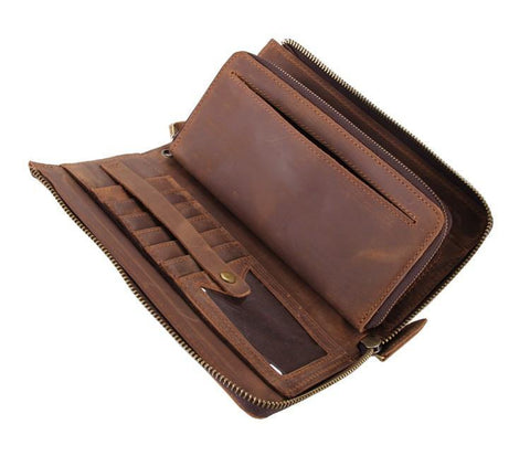 Image of Large Zip Around Wallet USL8048C-Universal Store London™