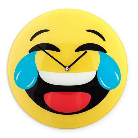 Laughing Emoji Wall Clock-Universal Store London™