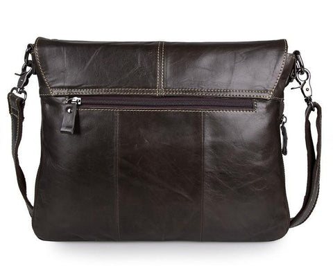 Image of Leather iPad Messenger Bag-Universal Store London™
