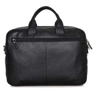 Leather Multi Pocket Business Briefcase-Universal Store London™