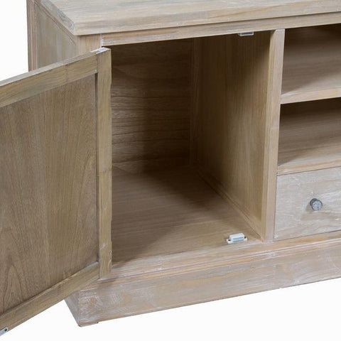 Long tv - Natural Collection by Craftenwood-Universal Store London™