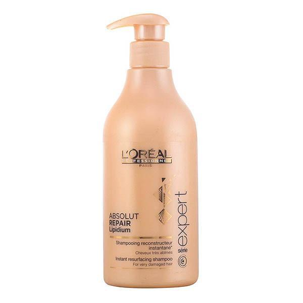 L'Oreal Expert Professionnel - ABSOLUT REPAIR LIPIDIUM shampoo 500 ml-Universal Store London™