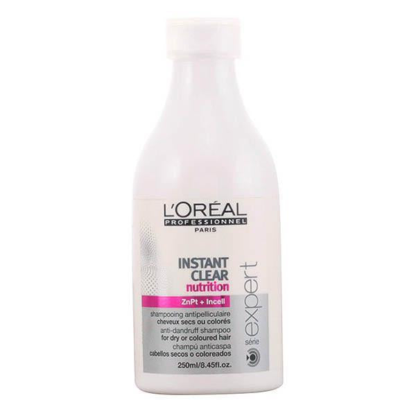 L'Oreal Expert Professionnel - INSTANT CLEAR purifying anti-dandruff shampoo 250 ml-Universal Store London™