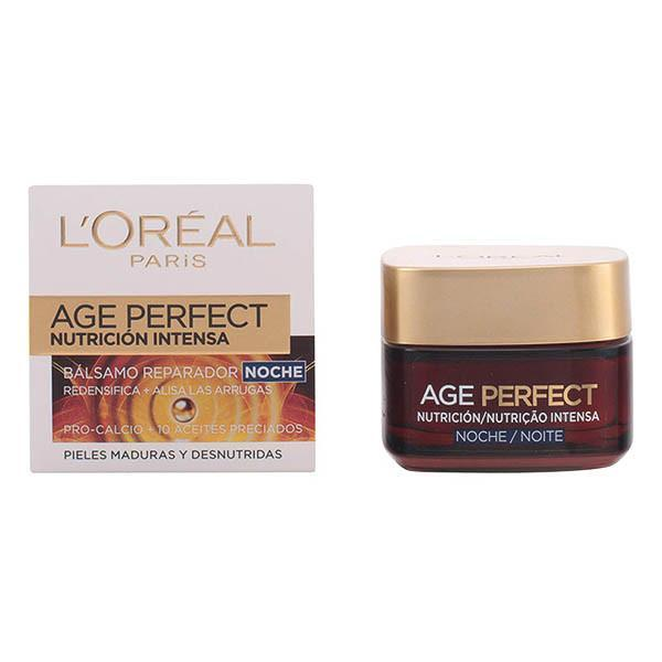 L'Oreal Make Up - AGE PERFECT intensive nourising night balm 50 ml-Universal Store London™