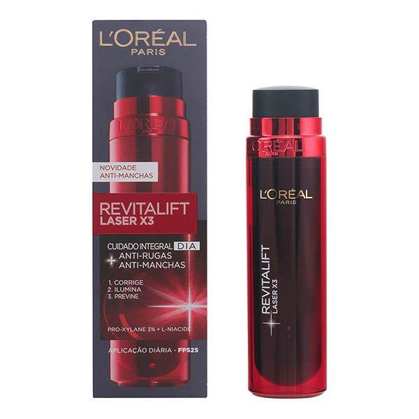 L'Oreal Make Up - REVITALIFT LASER X3antiage&antiblemish day cream SPF25 50 ml-Universal Store London™