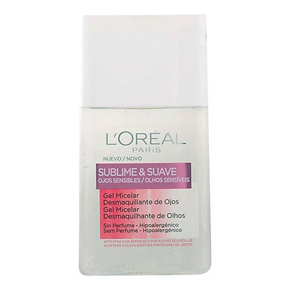 L'Oreal Make Up - SUBLIME&SUAVE micellar gel eyes makeup remover 125 ml-Universal Store London™
